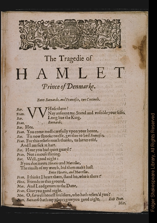 hamlet commentary act one scene 2 That is rubbish, a vicious mole in the editing and commentary of hamlet, a flaw which has only undermined the correct presentation of the play) calendar time - day 2 of the reign of king claudius.